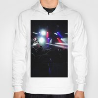 concert Hoodies featuring CONCERT by Eclectic House Of Art