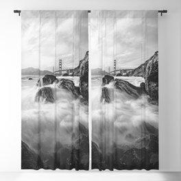 Golden Gate Bridge III Blackout Curtain