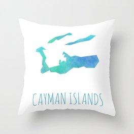 Cayman Islands Throw Pillow