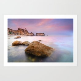 """Rijana beach"" Art Print"