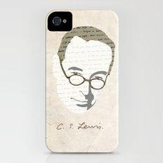 C.S. Lewis iPhone (4, 4s) Slim Case