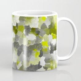 Painterly Gary Green Camouflage Coffee Mug