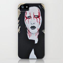 """Manson- """"Coma Black"""" iPhone Case"""