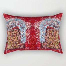 Abstract Beer - Inspired By Pollock  #society6 #wallart #buyart by Lena Owens @OLena Art Rectangular Pillow