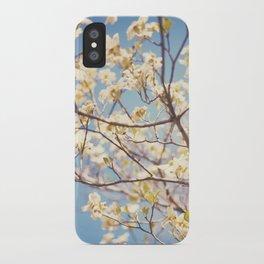 Dogwood Tree - Spring Flowering Tree Photography iPhone Case