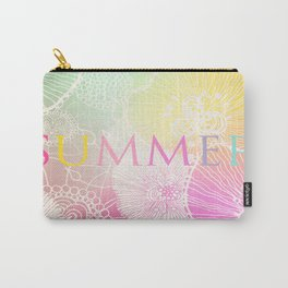 PRISMATIC SUMMER RAINBOW Carry-All Pouch