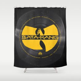 Bata-rang Clan Shower Curtain