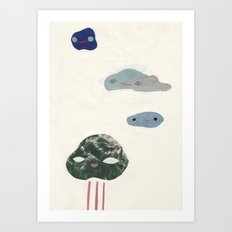 cloudies Art Print