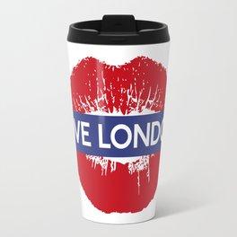 yeah baby, Love London Travel Mug