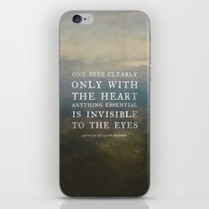 II. Anything essential is invisible to the eyes. iPhone & iPod Skin