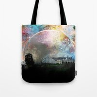 infinite Tote Bags featuring Infinite by J.Lauren