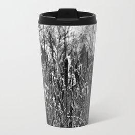 Winter Poetry of the Grasses Travel Mug