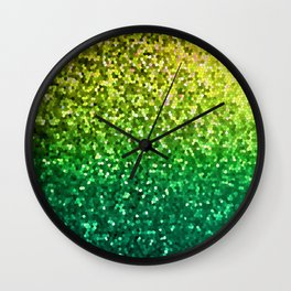 Mosaic Sparkley Texture G202 Wall Clock