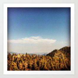 Sierra Nevada (California) Art Print