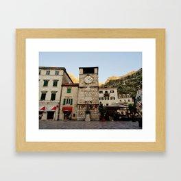 Clock Tower 2 Framed Art Print