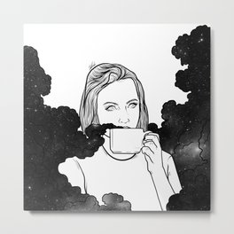 Magical coffee. Metal Print