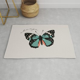 (be the) change Rug