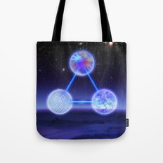 CSETI Logo in 3D Tote Bag