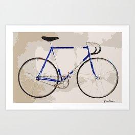 The Gios Track Bike Art Print