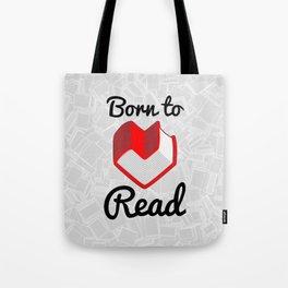 Born to Read II Tote Bag