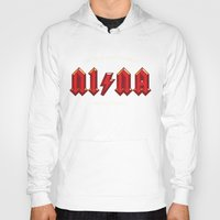 acdc Hoodies featuring For those about to walk by Quique Ollervides