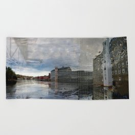 Newmarket Mills Abstraction Beach Towel