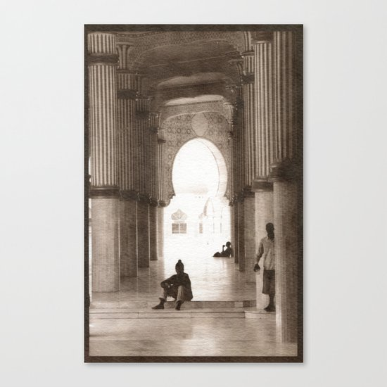 Mosque 2 Canvas Print