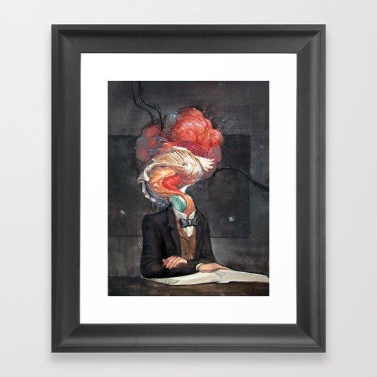 Mutant Scholar Framed Art Print