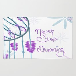 Never Stop Dreaming Rug