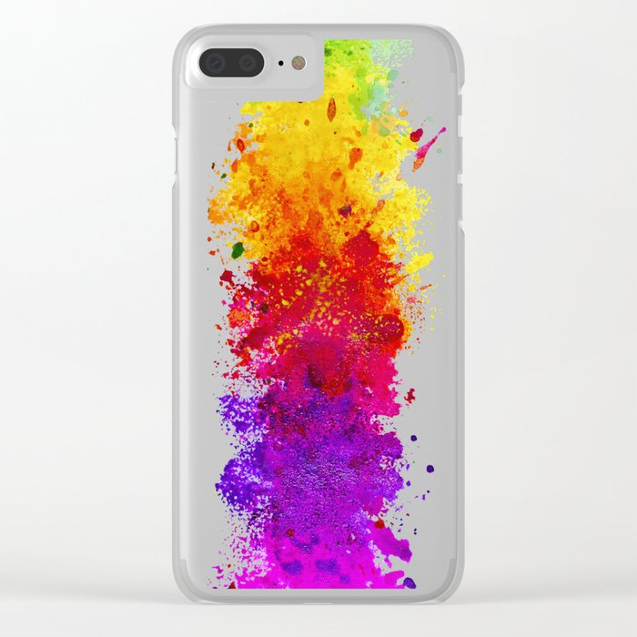 Color me blind Clear iPhone Case