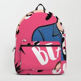 Beard Boy: Pink Panther Backpack