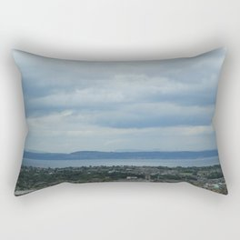 Edinburgh Cityscape Rectangular Pillow