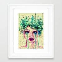 goddess Framed Art Prints featuring Goddess by Misrella