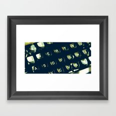 Can't find the words sometimes Framed Art Print
