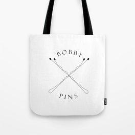 BOBBYPIN Tote Bag