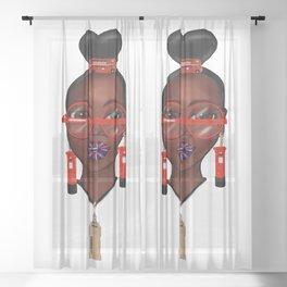 Love London Sheer Curtain