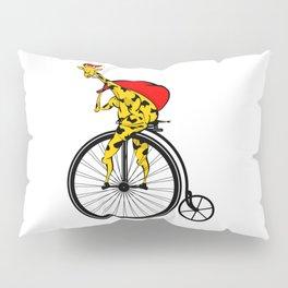 Giraffe Santa Chritmas Pillow Sham