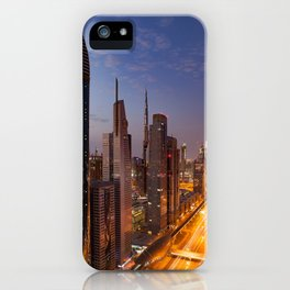 Dubai #society6 #decor #buyart iPhone Case
