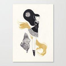 -R- Canvas Print