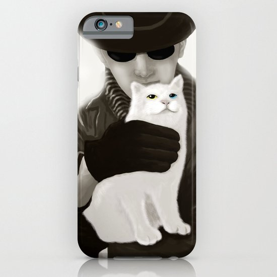 Cat and Alien iPhone & iPod Case