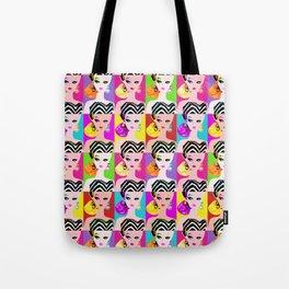 Pop Art Barbie Tote Bag