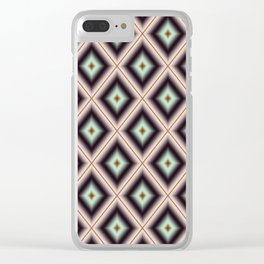 Starry Tiles in BMAP 00 Clear iPhone Case