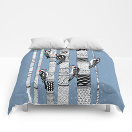 Woodpeckers Comforters