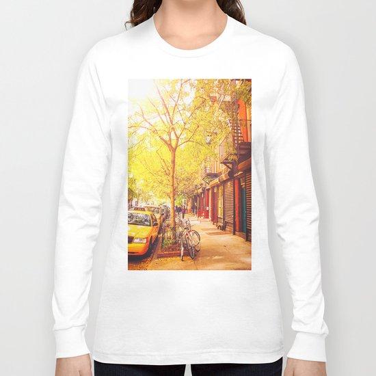 Autumn - East Village - New York City Long Sleeve T-shirt