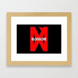 BLOODLINE - Hidden Truth Framed Art Print