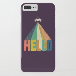 Hello I come in peace iPhone Case