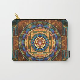 The Sri Yantra - Sacred Geometry Carry-All Pouch