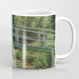The Japanese Footbridge and the Water Lily Pool Coffee Mug