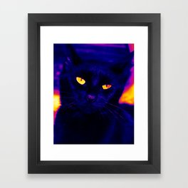 Ink Electricfied Framed Art Print