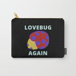 Lovebug Again - Ladybug Carry-All Pouch